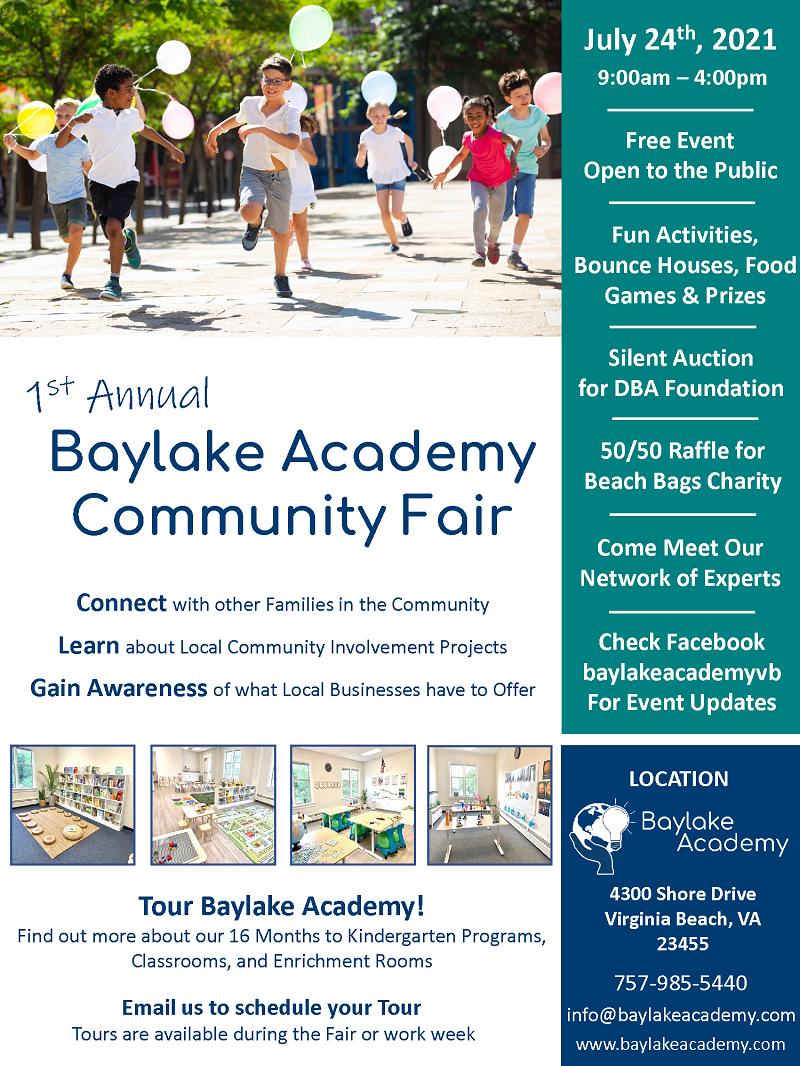 baylake academy community fair 2021